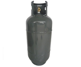 19 Kg LPG Cylinder fitted with self closing valves with safety relief