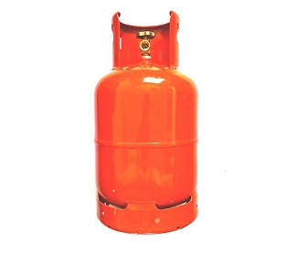 13 Kg LPG Cylinder fitted with self closing valves with safety relief