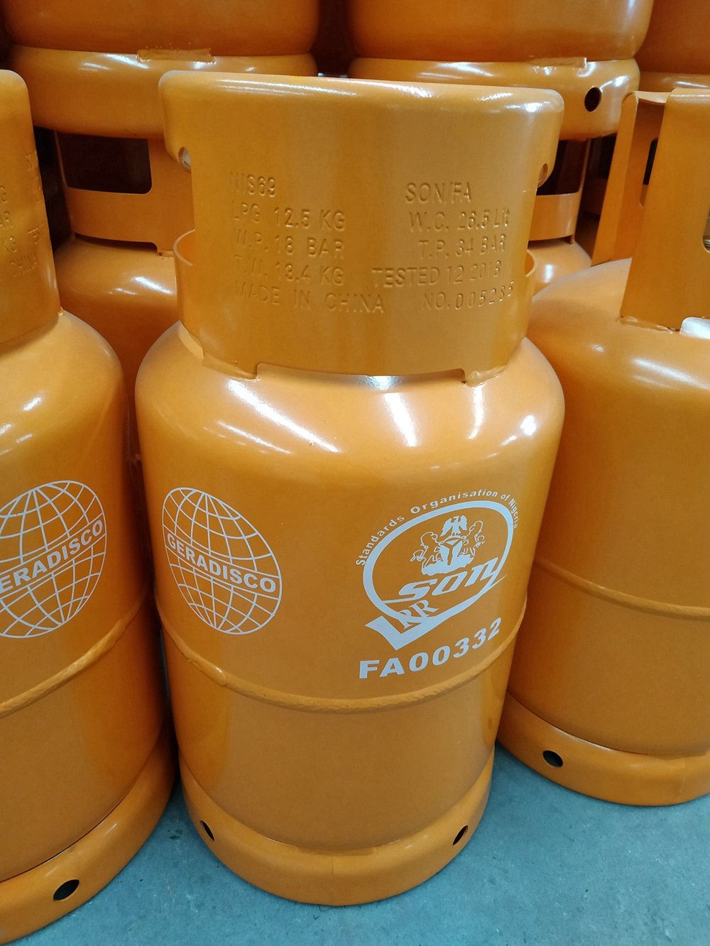 Importation of LPG cylinders into Nigeria SONCAP Certification needed