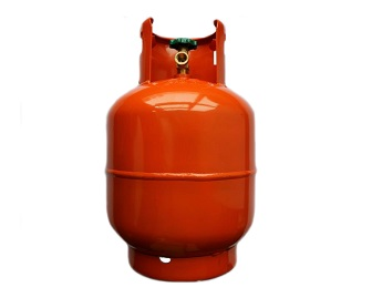 10 Kg Gas Cylinder fitted compact valve