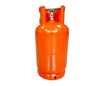 15 Kg LPG Cylinder fitted with self closing valves