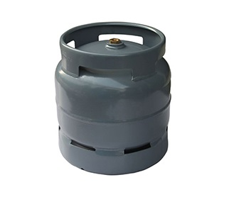6 KG Gas Cylinder fitted camping valve