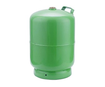 5 KG Gas Cylinder fitted camping valve