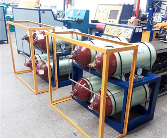 CNG Cylinder Test Equipment and Machine